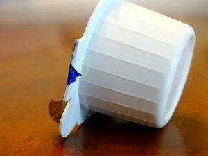 eine Kaffeehaus Portion Kondensmilch