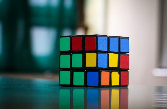 Ein bunter Würfel - der Ruby Cube